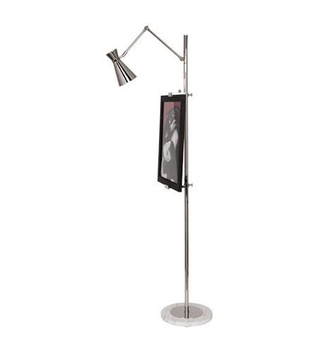 Robert Abbey S706 Lamps with Metal Shades, Polished Nickel Finish
