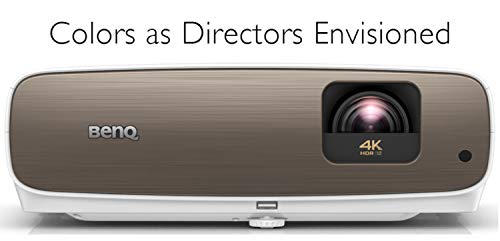 BenQ HT3550 4K Home Theater Projector with HDR10 and HLG, 95 DCI-P3 and 100 Rec.709 for Accurate Colors, Dynamic Iris for Enhanced Darker