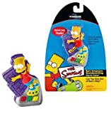 Bart's Simpsons Skateboarding Clip-On Game
