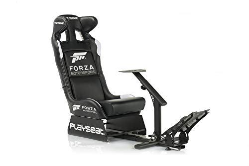 Playseat Evolution Forza Motorsports PRO Edition Racing Video Game Chair for Nintendo Xbox Playstation CPU Supports Logitech Thrustmaster Fanatec Steering Wheel and Pedal Controllers