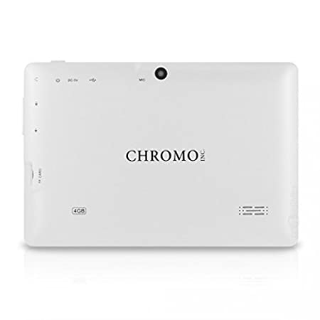 Amazon chromo inc tablet 7 inch hd touchscreen android amazon chromo inc tablet 7 inch hd touchscreen android tablet updated with tuv quality certification white tablet computers computers fandeluxe Choice Image