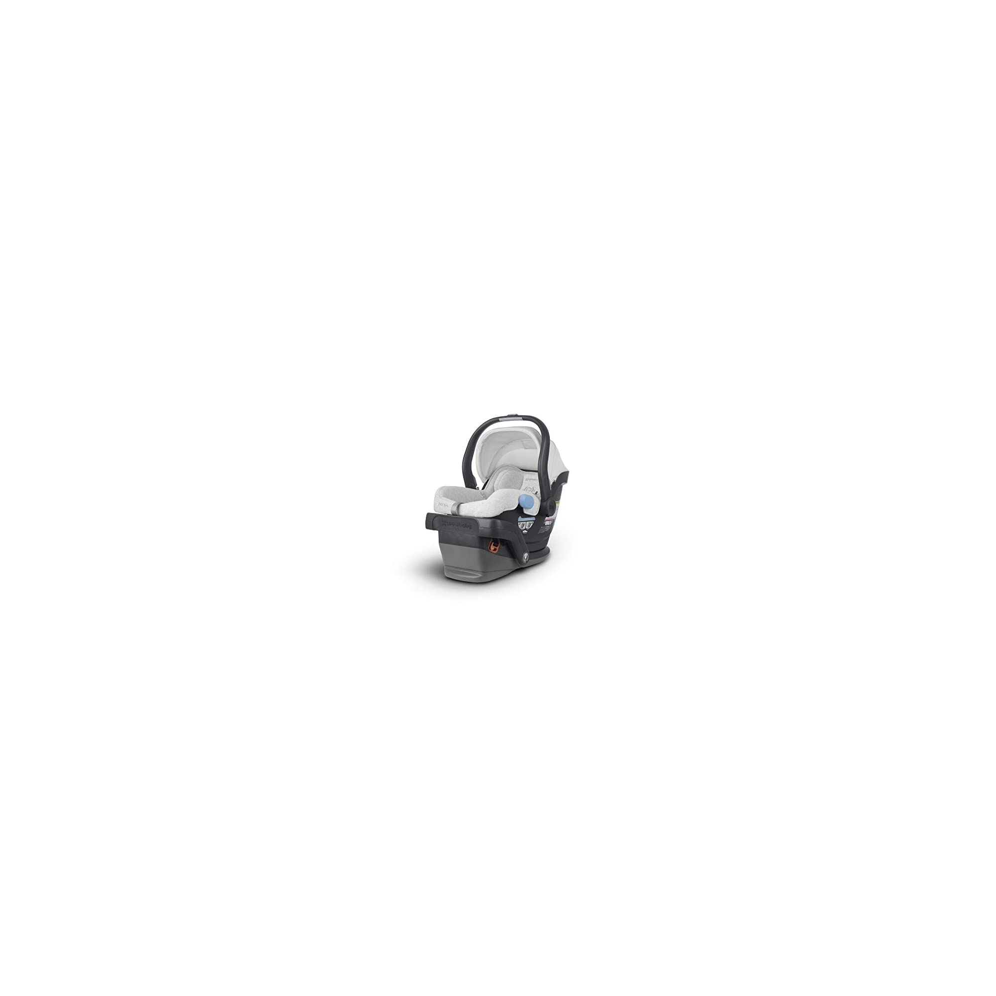 UPPAbaby MESA Infant Car Seat – Bryce (White and Grey Marl)