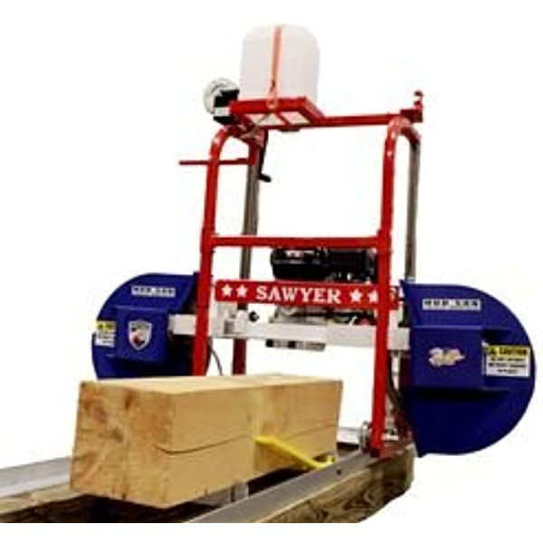 Hud Son Sawyer Portable Sawmill Bandmill Chainsaw Mill Made In The Usa Amazon Com