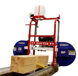 Hud-Son Sawyer Portable Sawmill Bandmill Chainsaw Mill
