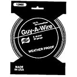 HILLMAN FASTENERS 122061 Blue Plastic Coated Galvanized Guy-A-Wire with Bulk Packaging, 50'