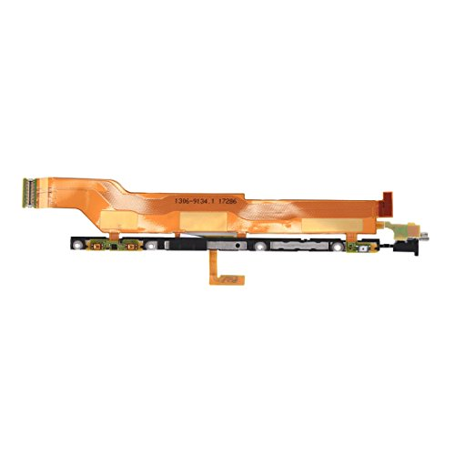 iPartsBuy Power Button and Volume Button Flex Cable Replacement for Sony Xperia XZ1
