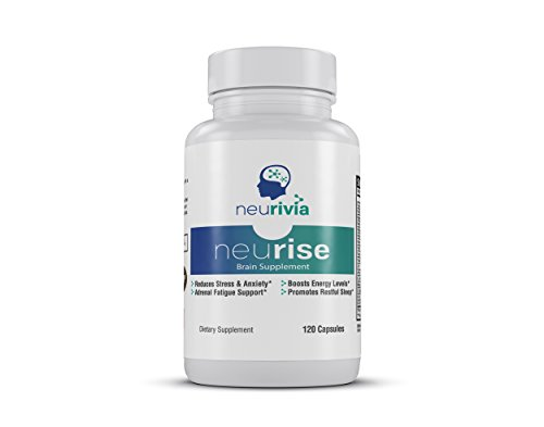 Neurise Stress and Anxiety Relief Supplement (XX Capsules) Boost Natural Energy, Support Healthy Sleep | Vitamin B Complex, L-Theanine, L-Carnitine | Safe, Effective