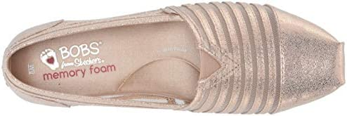 Bobs Plush-Leather and Mesh Slip