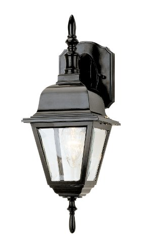 Trans Globe Lighting 4411 BK Outdoor Argyle 16.75