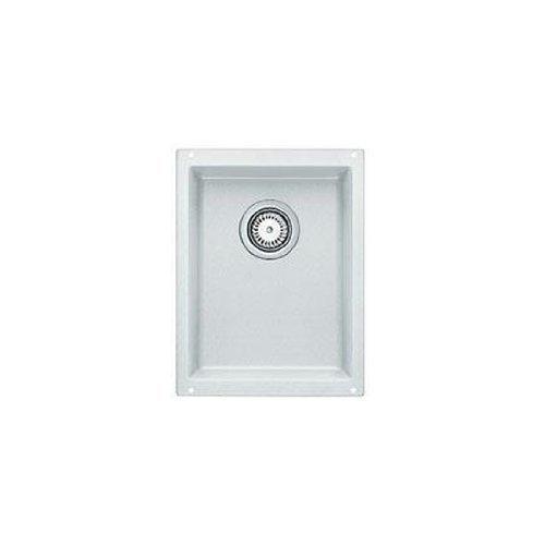 Blanco 513426 Silgranit BlancoPrecis Single Large Bowl, White (Large Square Bar Sink)