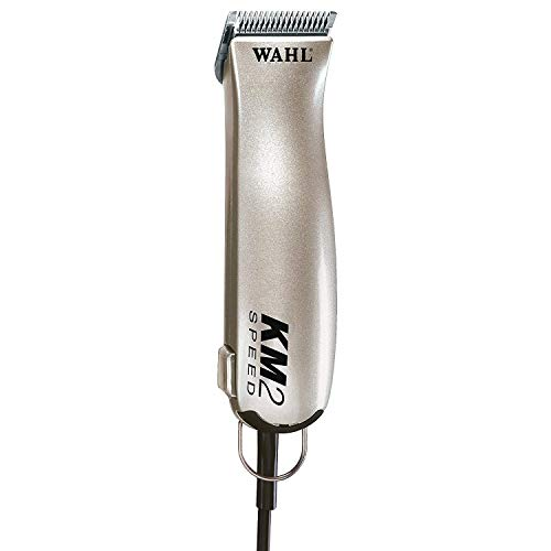 (Wahl Professional Animal KM2 Deluxe Dog Pet Clipper Kit #9757-1001)