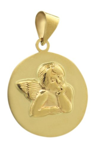 Goldanhänger  Hobra-Gold Anhänger Schutzengel Gold 585 - Goldanhänger Engel ...