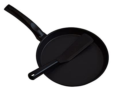 "9.5"" Non-stick Crepe Pan and Crepe Turner"