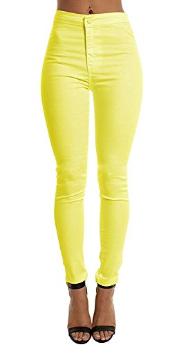 Yellow Ankle Pants - 3
