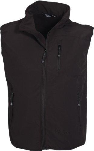 Softshell-Weste Windbreaker Herren von Fifty Five - Sheerbroke schwarz XL - mit FIVE-TEX Membrane für hochwertige Outdoor-Bekleidung