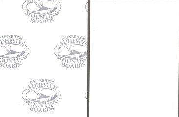 Pack of 5 12x16 3/16 White Self Adhesive Foam Core Backings Bux1 Picture Matting 4336847941