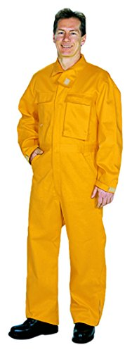 6 oz Yellow TOPPS SAFETY CO76-5648 Short//34-36 CO76-5648 NOMEX Brush Gear Coverall Short Small//Size 34-36