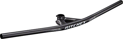 2015 Ritchey WCS Carbon Bullmoose Handlebar & Stem Matte UD Carbon 80mm x 730mm by Ritchey