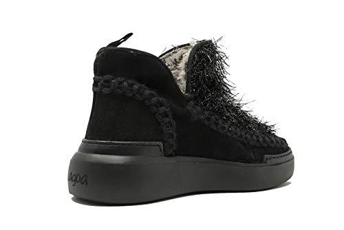 Lagoa Stivaletti Da Divina Sneakers Nero Casual Polacchino Donna Sportive Scarpe Stivali rT5wxYUTq
