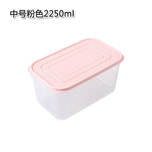 UWSZZ Cocina caja con tapa cajas de plástico transparente sellada ...