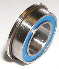 "Flanged Metal Rubber Sealed Ball Bearing 1//4/"" x 1//2/"" x 3//16/"" 25pcs FR188-2RS"