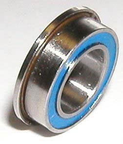 FR3-2RS Flanged Bearing Sealed 3//16 x 1//2 x 0.197 inch Miniature Ball Bearings VXB Brand