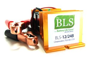 Battery Life Saver BLS-12/24B 12 & 24 Volt Battery Desulfator by Battery Life Saver