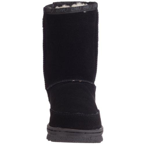 Emu Bushranger Lo Mädchen Langschaft Stiefel Schwarz (Black)