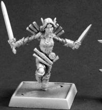Reaper Miniatures 60095 Pathfinder Series Mini Merisiel, Iconic Elf Thief Miniature REM60095