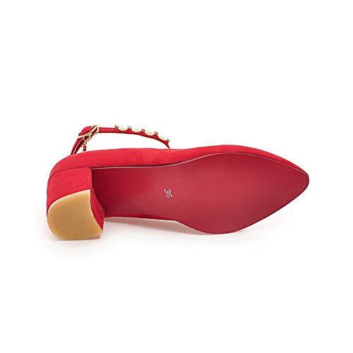 Sandali Donna Zeppa MMS06232 Rosso con Sconosciuto Red 35 EU 1TO9 ZPnqwCBxfa