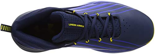 Pictures of Under Armour Men's Launch Basketball Shoe 3020622 Academy (400)/Royal 2