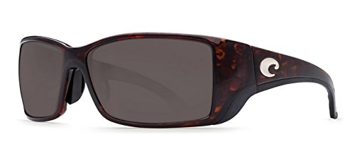 Costa Del Mar Sunglasses - Blackfin- Plastic / Frame: Tortoise Lens: Polarized Gray 580P Polycarbonate by Costa Del Mar