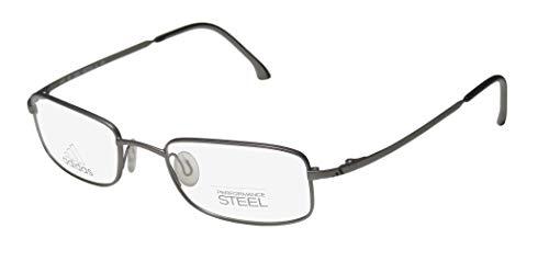 Adidas A945 Unisex/Boys/Girls/Kids Designer Full-Rim Shape Sporty Small Size For Children Eyeglasses/Glasses (45-18-125, Gray)
