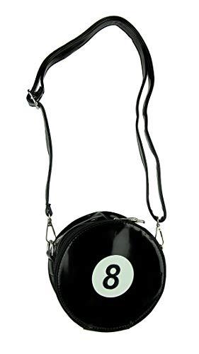 8 Body Black X Cross Cross 6 Black Billiards Purse 6 Patent Vinyl Inches 5 Bags Womens Ball Vinyl Body X 2 XwqRWaxgP