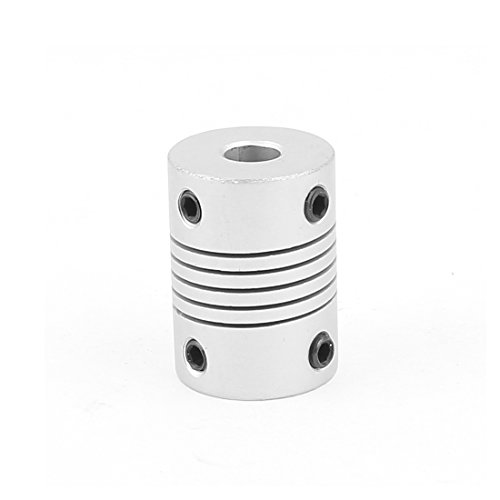 uxcell 6mm to 6mm Aluminium Alloy Encode Beam Coupling Joint DIY Motor Shaft Adapter