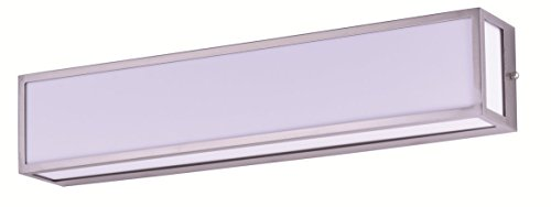 Cloudy Bay Bathroom Vanity Light,25 inch 3000K Warm White,Dimmable LED Wall Lamp,Brushed (Above Sink Lighting)