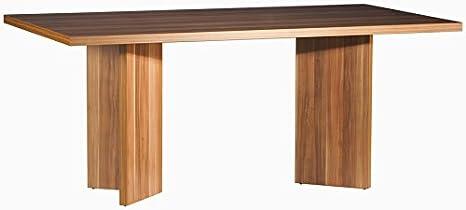 Composad Tavolo per soggiorno moderno colore ciliegio venato: Amazon ...