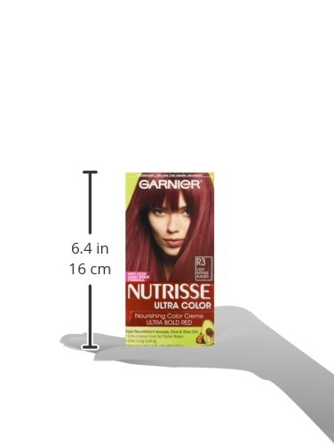 Garnier Nutrisse Ultra Color Nourishing Hair Color Creme, Light Intense Auburn, 3 Count  (Packaging May Vary) by Garnier (Image #6)