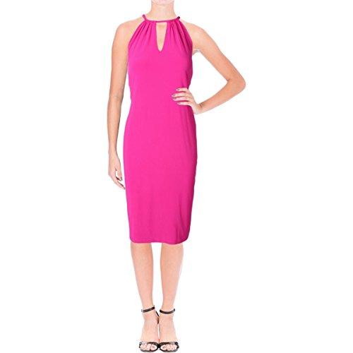 Lauren Ralph Lauren Womens Jersey Stretch Cocktail Dress Pink (Ralph Lauren Pink Dress)
