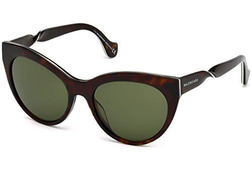 Sunglasses Balenciaga BA 0051 52N dark havana / green