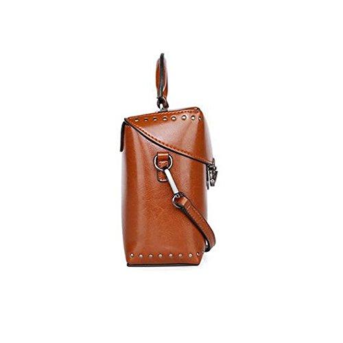 LS Spring & Summer Ledertasche Mode Schulter Diagonal Weibliche Tasche qlISa2