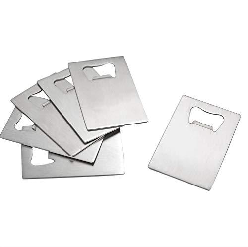 Wekiog Credit Card Bottle Opener for Your Wallet, 6 Packs