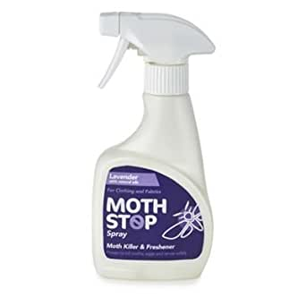 Lakeland Lavender Scented Moth Stop Clothes & Fabric Spray For Wool & More by Lakeland