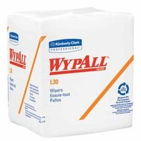 Wypall L30 Economizer Wipers Wht Q-Fold 12Bx/Ca, Sold As 1 Case, 12 Box Per Case