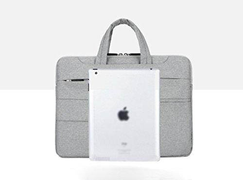 Nylon Shoulder Gray Laptop Light Sunwanyi Bag Messenger Computer 3 Notebook Briefcase CEtnqfwn