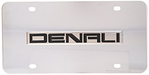 Auto Gold DENNCC Denali Name Chr/Chr Plate