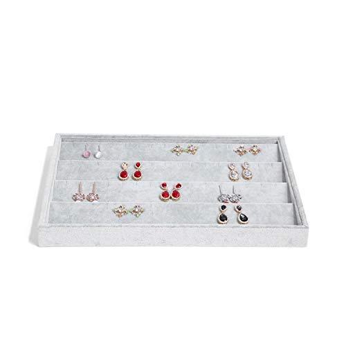 ALISHA BRYANT Fashion Trays Jewelry Display Holder Bracelet Ring Earring Jade Pendant Box Jewelry,C7 ()