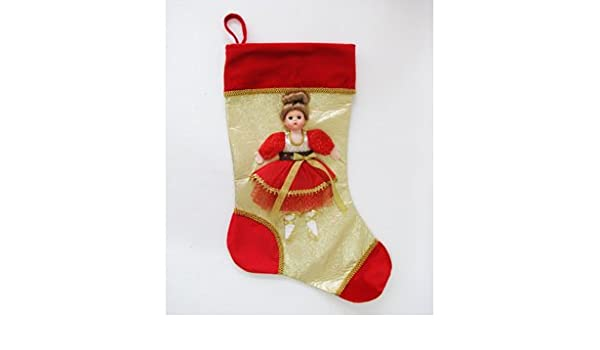 Wendy Doll Red /& Gold Stocking by Madame Alexander New in Package