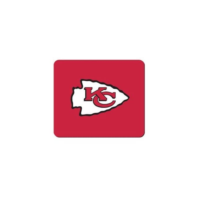 Kansas City Chiefs NFL Neoprene Logo 8x7 Sports Fan Mouse Pad