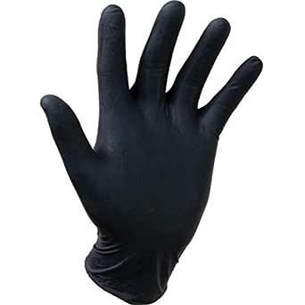Gentle Touch 0647 Nitril wegwerphandschoen, maat XL, zwart